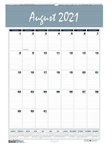 House of Doolittle Calendário mensal de parede 2021-2022, acadêmico, porto de bar, 30,5 x 43,8 cm, agosto - julho (HOD352-22)