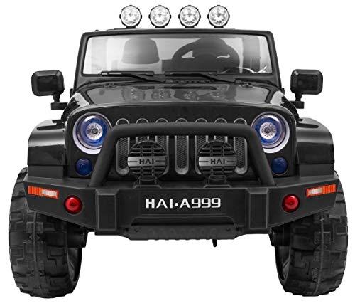 RC Auto kaufen Kinderauto Bild 4: BSD Kinderauto Elektroauto Kinderfahrzeug Spielzeug Elektrofahrzeuge - Master 4x4 2-Sitzer - Schwarz*