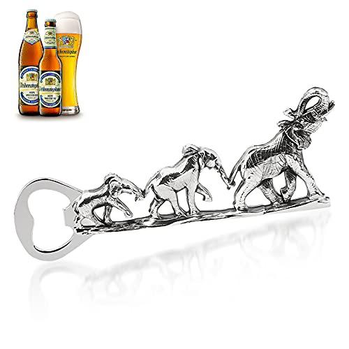 Whchiy Elephant Flaschenöffner, Metall Elefant Corkscrew Elefant Bier Flaschenöffner Barkeeper Bier flaschenöffner für Bar Party, Trinkspiel, Geschenke für Männer