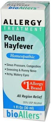 BioAllers Allergy Treatment Pollen Hayfever 5 ☆ popular - 1 High quality Remedies oz.