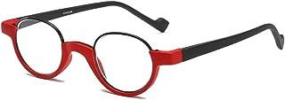 Reading glasses Ronde leesbril, superlichte anti-vermoeidheid leesbril, modebril voor mannen en vrouwen, materiaal TR90