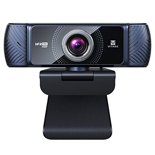 Webcam 1080p 60fps Full HD con microfono stereo, Vitade 682H PC Computer USB Webcam per videochat e registrazione, compatibile con Windows, Mac e Android
