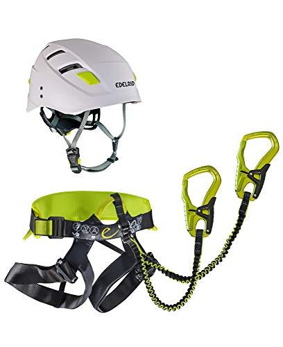 EDELRID Klettersteigset mit Helm Jester Comfort KSS Kit