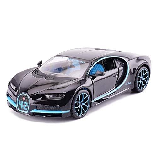 SSBH Automodell Auto Druckguss Modell Bugatti Chiron Sportwagen Modell Simulation Auto Legierung Spielzeugauto Sammlung Dekoration Geschenk Kinder Holz Und Mustang Kleinkinder Metall Auto