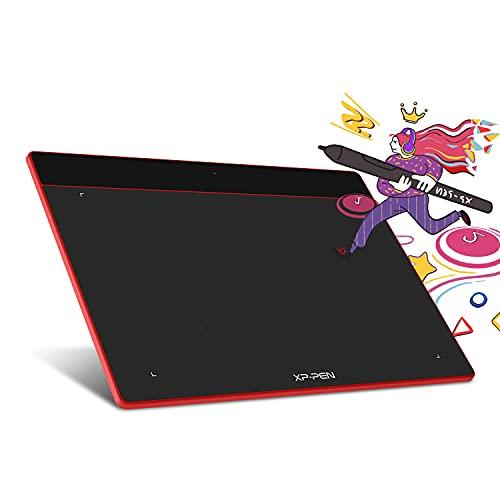 XP-Pen ペンタブレット Sサイズ ペンタブ Chromebook 対応 板タブ 充電不要ペン イラスト 入門用 OSU!ゲー...
