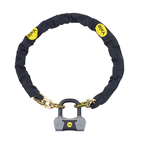 Yale YCL3/10/110/1 - Maximum Security Chain Bike Lock 1100mm - Heavy Duty Protection - 4 Keys including 1 with micro-light