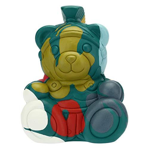 THUN ® - Teddy Street Art Roma Piccolo - Ceramica - h 11 cm - Linea I Classici