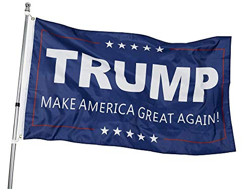 Homissor 3 x 5 Donald Trump for President 2020 MAGA-Flagge - Make America Great Again Flagge für drinnen und draußen Banner