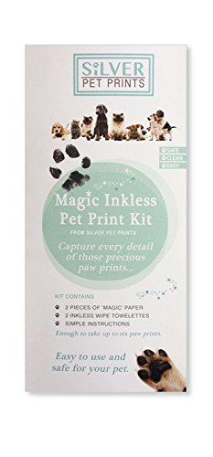 Silver Pet Prints Mascota Impresiones Magic Foto de Plata Kit de impresión