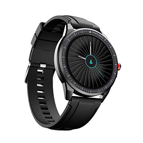 """boAt Flash Edition Smartwatch with Activity Tracker,Multiple Sports Modes,Full Touch 1.3"""" Screen,Sleep Monitor,Gesture, Camera & Music Control,IP68 Dust,Sweat & Splash Resistance(Lightning Black)"""