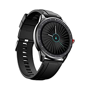 boAt Flash Edition Smartwatch with Activity Tracker,Multiple Sports Modes,Full Touch 1.3″ Screen,Sleep Monitor,Gesture, Camera & Music Control,IP68 Dust,Sweat & Splash Resistance(Lightning Black)