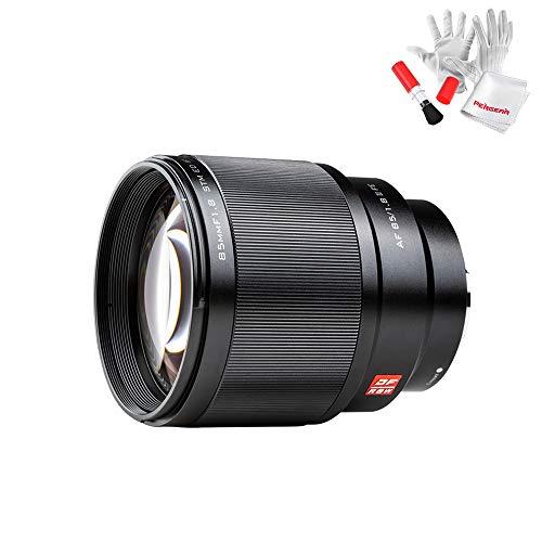 Viltrox 85mm F1.8 STM Autofocus objetivo para Sony E Mount, apertura electrónica, Motor de enfoque STM silencioso, Fotograma completo, Revestimiento multicapa HD Nano, Estructura metálica de precisión