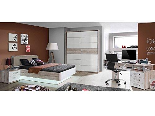 möbel-direkt Jugendzimmer Rondino 5tlg. mit 140er Bett