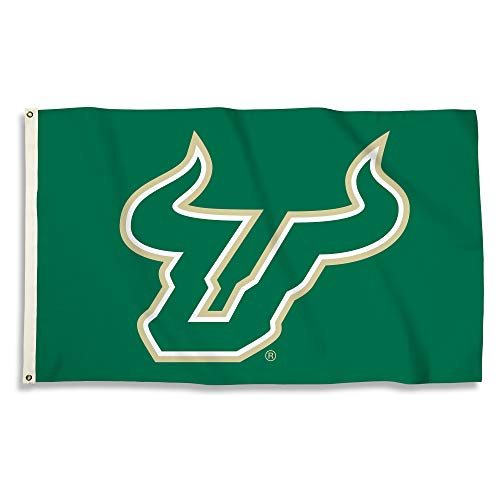 BSI NCAA College South Florida Bulls 3 X 5 Foot Flag with Grommets