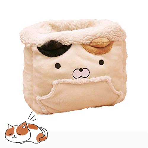 Hihey kat slaapzak huisdier tas zacht warm wasbaar kitten bed winddichte zak knuffelige zak dekens mat voor kitty kleine dieren