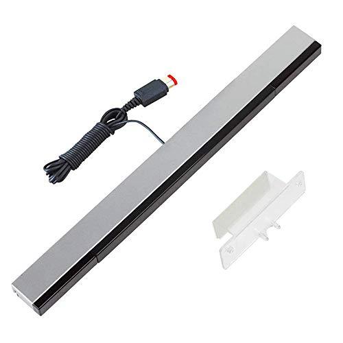 YiYunTE Sensor Bar para Wii Barra de Sensores con Cable para Juegos...