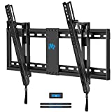 Mounting Dream Tilt TV Wall Mount TV Bracket for Most of 42-70 Inches TV, TV Mount Tilt up to 20 Degrees with VESA 200x100 to 600x400mm and Loading 132 lbs, Fits 16', 18', 24' Studs MD2165-LK