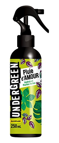 UNDERGREEN UNHYDRA250 Hydratant Plantes Vertes Pluie dAmour, Neutre, 250 ml