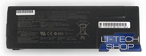 LI-TECH Batteria Compatibile per Sony VAIO VPCSB1X9E-B Nero di Ricambio PILA Nuova 4.4Ah