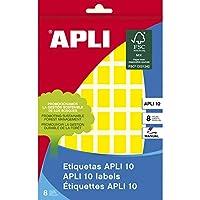 【APLI】手書き角丸カラーラベル 56片 (AP-02750)