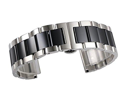 22 millimetri di fascia alta cinturino dell'orologio fine rettilineo...