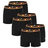 KTM Boxer Men Herren Boxershorts Pant Unterwäsche 6 er Pack, Farbe:Black2, Bekleidungsgröße:M
