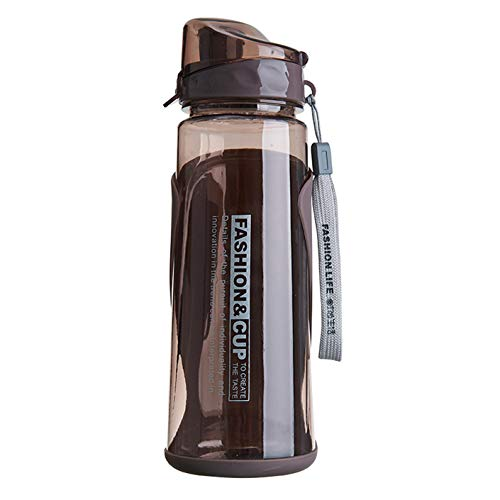 Botella de agua para adultos y adolescentes con pajita para deportes al aire libre, botella de agua para fitness, gimnasio sin BPA, tazas de agua de 720 ml