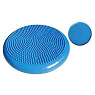 Therapist's Choice Inflated Air-Filled Stability Balance Disc-Blue