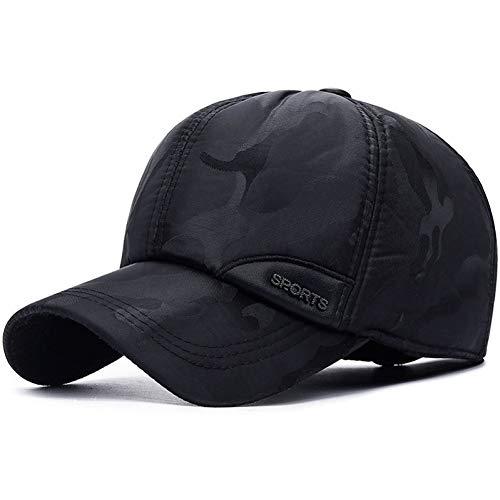 FORBQM Baseballmütze Fashion Camouflage Printed Kunstleder Baseball Cap Für Männer Frauen Casual Snapback Hat Herren Hut Cap