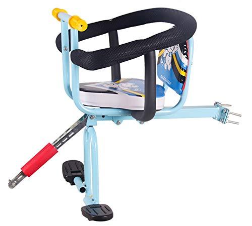 Silla Bicicleta Para Niños,Asiento Infantil Para Bicicleta Asiento Delantero De Seguridad Para Niños 4