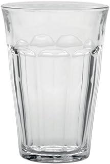 Duralex Picardie 1029AB06 - Juego de 6 vasos de vidrio de