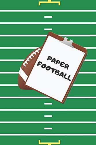 PAPER FOOTBALL: pen and paper strategy game for kids, teens and adults