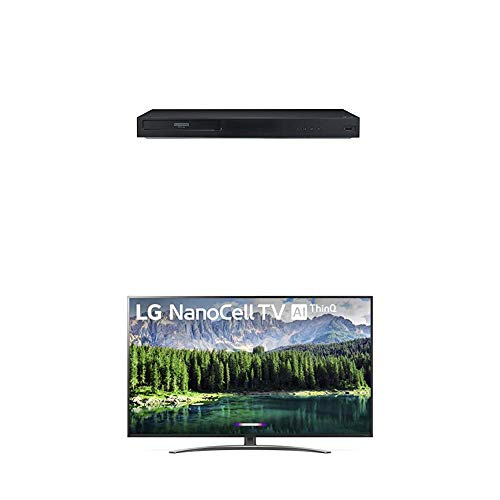 For Sale! LG UBK90 4K Ultra-HD Blu-ray Player with Dolby Vision (2018) and Nano 8 Series 75 4K Ultr...
