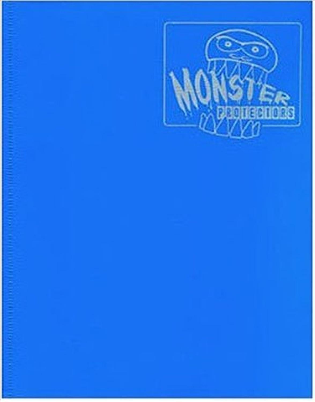 Monster Binder - 4 Pocket Trading Card Album - Matte Blau (Anti-theft Pockets Hold 160+ Yugioh, Pokemon, Magic the Gathering Cards) B0096BZ1AS Hat einen langen Ruf  | Haltbarkeit