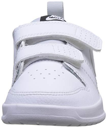 Nike Pico 5 (PSV), Tennis Shoe, Blanco White White Pure Platinum 100, 35 EU