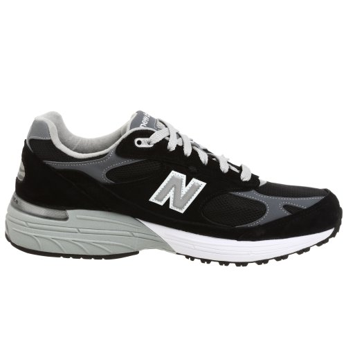 New Balance mens Made in US 993 Sneaker , BLACK , 12 2E US