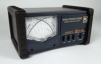 DAIWA CN-501V 140-525 MHz Cross-Needle SWR/Power Meter W/ SO239s