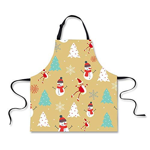 POLERO Christmas Apron - Snowmen and Xmas Trees - Other designs available