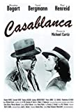 WZGJZ Leinwand Bilddruck Casablanca Film Wandkunst Poster