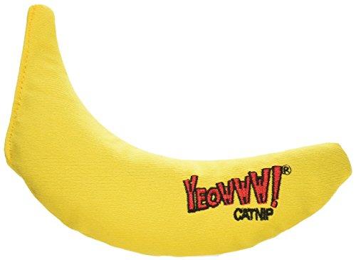 Yeowww! 100% Organic Catnip Toy, Yellow Banana by Yeowww!