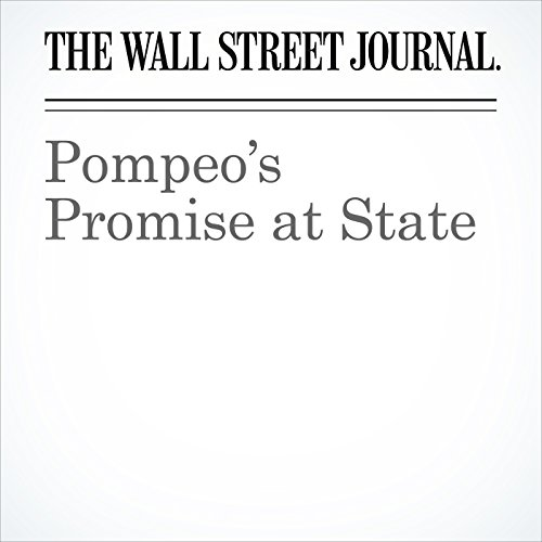 Pompeo's Promise at State copertina