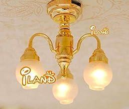 10PCS Table LED LAMP Light for Dollhouse Miniature 1:25 Scale 21mm