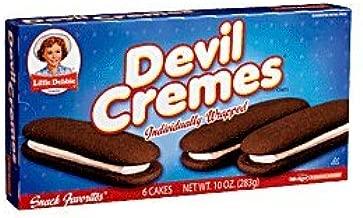 Little Debbie Snack Devil Cremes Creme Filled Cakes 6 Ct