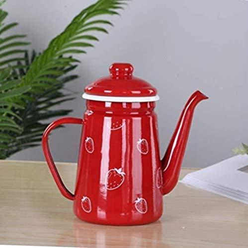 HZYDD Gusseisen Set Kessel Kessel 1.1L Kaffeekanne Öl Pot Kettle Kettle Pot Kalter Kessel Hauptdekoration Präsens