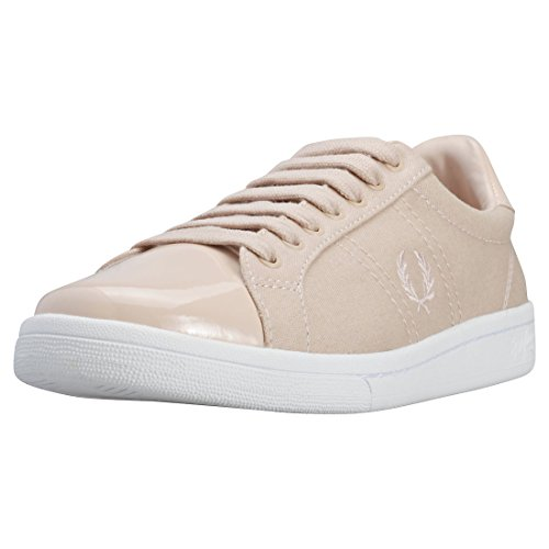 Fred Perry B721 Mujeres Zapatillas Rose - 6 UK
