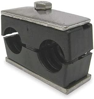 BEHRINGER PIPE SYSTEMS TW3075-PP Tube Clamp Kit, Tube 3/4 In, Zinc-Plated BEHRINGER PIPE SYSTEMS TW3075-PP Tube Clamp Kit, Tube 3/4 In, Zinc-Plated