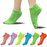 FUNDENCY Non Slip Yoga Socks for...