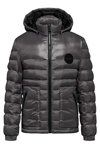 HUGO Mens Balin2041 Down Coat, Charcoal (16), M