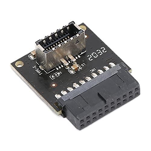 Placa Base USB 3.0 Frontal De 19 Pines A 3.1, Adaptador De Panel Frontal USB Placa Base USB 3.0 Interno Para Usar Con Todos Los Conectores De Placa Base USB 3.0 De 20 Pines