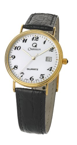 Orphelia Herren Armbanduhr Analog Quarz Leder MON-7081/2